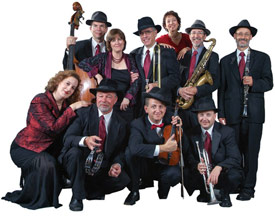 Lake County Community Concerts reciprocity Maxwell Street Klezmer Band